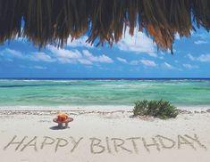 Happy Birthday - Sand & Ocean