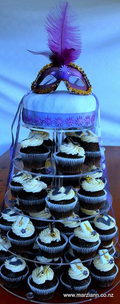 Cupcakes and Cake - Masquerade Ball