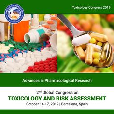 World Congress on Toxicology and Applied Pharmacology is on Sep 21 2020 at Rome Atomic Science, Forensic Toxicology, World Congress, In Vivo, The Deed, Clinical Research, Organic Chemistry, Pharmacology, Life Science