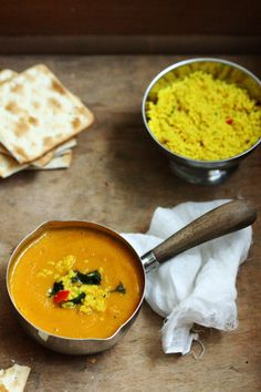 Carrot & Pumpkin Soup with Couscous