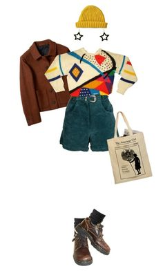 """baby, it's /sort of/ cold outside"" by hardtoluv on Polyvore featuring Charlotte Russe, Dr. Martens and Lowie"