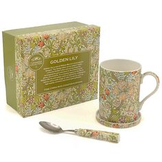 A terrific range of tea gifts for tea lovers and coffee gifts for coffee lovers. With accessories like tea infusers, afternoon tea and thermal coffee cups you are sure to find a gift for tea or coffee lovers. Green Kitchen, Kitchen Gifts, Kitchen Essentials, William Morris, Kitchen Gadgets, Tablescapes, Coasters, Porcelain, Lily