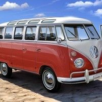 Metal Wall Sign – VW Samba Bus Beach Design & appeal: An official licenced Volkswagen product, created in-house by Red Hot Lemon by courtesy of the artist. We are lucky enough for the creator of this Vw Camper Bus, Volkswagen Bus, Volkswagen Transporter, Vw Caravan, Campers, Wolkswagen Van, Vw Samba Bus, Combi Ww, Vw Camping