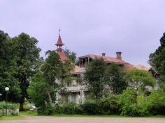 Hjo Stadsparken Hus