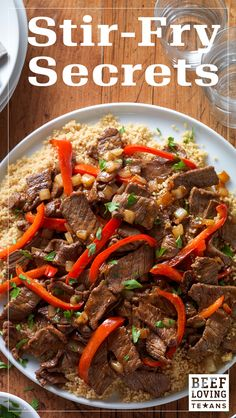 Looking for a delicious & quick meal solution? Our stir-fry tips & recipes have ya covered.
