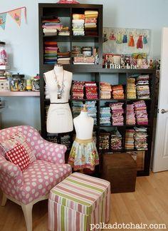 Fabric Reorganized.