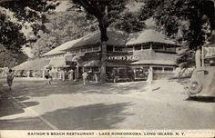 Raynor's Beach Restaurant, Lake Ronkonkoma Long Island, NY, circa 1938?