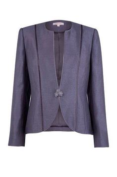 Jacques Vert - Mother of the Bride Outfits Blazers For Women, Suits For Women, Jackets For Women, Clothes For Women, Blazer Pattern, Jacket Pattern, Designs For Dresses, African Wear, Jacket Dress