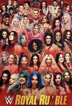 Wrestling Divas, Women's Wrestling, Wwe Royal Rumble, Wwe Sasha Banks, Wwe Female Wrestlers, Wwe Girls, Wwe Wallpapers, Wwe Womens, 20th Anniversary