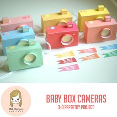 Adorable - Papercraft cameras you can download and assemble!