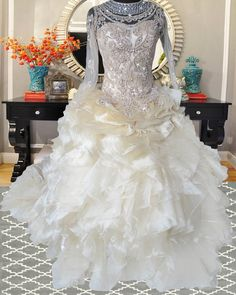 ball gown organza layering with bridal wedding lace bridal wedding beadwork vintage wedding gown unique wedding gown with french lace and bridal beadwork Php6,000 rental.   www.gownforent.com   Debut, flores de mayo, pageant, sta cruzan, gala, wedding, bridal  Viber/Telegram/Line/Whatsapp: 09983606102   www.gownforent.com   Facebook: manilagowns   Instagram: gownforent Unique Wedding Gowns, Wedding Lace, Lace Weddings, Bridal Lace, Unique Weddings, Wedding Dresses, French Lace, Manila, Pageant