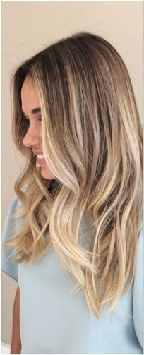 The In-Between: Bronde Hair Color