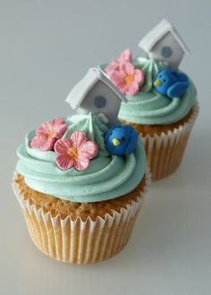 bird House Cupcakes | Flickr - Photo Sharing!