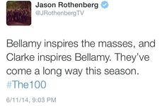// OMG STAWP! // Bellarke is my baby // I need them now! // WHERE IS SEASON 2! //