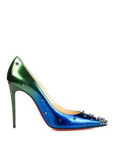 Degraspike 100mm ombré stud-embellished pumps | Christian Louboutin | MATCHESFASHION.COM US