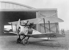 Sopwith Camel single-seat fighter biplane.