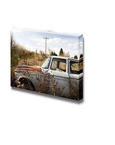 Wall26 - Canvas Prints Wall Art - Abandoned Car in Brush ... https://www.amazon.com/dp/B00Y7QWSBM/ref=cm_sw_r_pi_dp_x_POcdzbY4X0BV7