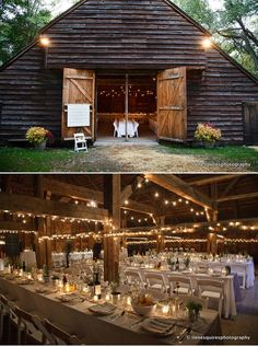 farmhouse wedding, very charming