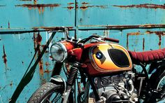 From Spain BMW R60-5 Brat Style by Tarmac Custom #motorcycles #bratstyle #motos | caferacerpasion.com