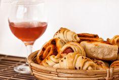 ízharmonikus: Sós kifli, virslis kifli és pizzás csiga