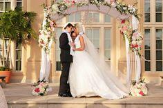 Jewish Wedding Ceremony - Pretty Chuppah / Huppah {Tonya Malay Photography} - mazelmoments.com