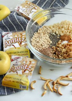 Summer is here and so are the Arctic ApBitz™ dried apple snacks! Check out this easy, no-bake recipe for summer snacks using Arctic ApBitz™ apples Apple Snacks, Smart Nutrition, Dried Apples, Summer Snacks, Granola Bars, Baking Pans, Arctic, Baking Recipes, Breakfast