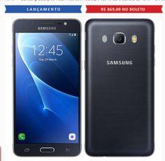 Samsung Galaxy J5 Metal Tela 52 4G 16 GB e Câmera de 13 MP - Duas Cores Disponíveis << R$ 86900 >>