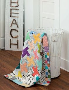 """Start with Strips: 13 Colorful Quilts from 2-1/2"""" Strips: Susan Ache: Jelly roll quilt pattern. Affiliate link."""