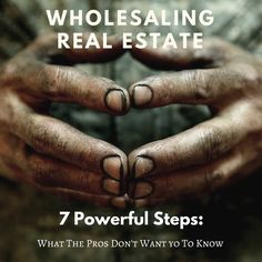 Wholesaling real estate is an awesome way to build tons of cash in real estate without boatloads of money or experience. This article shares tips it took...