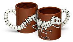 Mug fossile de T-Rex