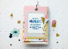 by laeti: Mini album pour Crate Paper