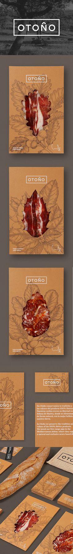 Tres Tipos Gráficos - Otoño Huelva Ham Packaging www.trestiposgraficos.com