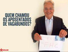 Partido divulgou nas redes sociais série de montagens a partir de foto de Fernando Henrique Cardoso segurando uma folha com a mensagem 'foi o FHC'