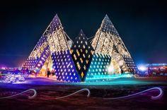 105 moments exceptionnels de la célébration la plus psychédélique au monde, le fameux Burning Man Festival | Daily Geek Show