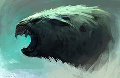 Creature by SaeedRamez.deviantart.com on @DeviantArt