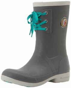 cute rain boots with the pop of color in the lace  LaCrosse Women's Hixon 12 Inch Snow Boot,Grey,5 M US LaCrosse http://www.amazon.com/dp/B007XP6O9Q/ref=cm_sw_r_pi_dp_XdCLtb1JE54Z0A3G