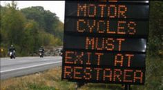 Pro Motorcycle Advocacy:  End of motorcycle only checkpoints?