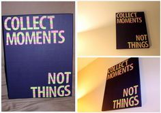 diy painted canvas quote