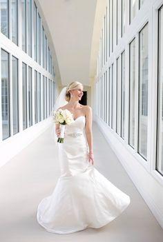 bridal gown from Bacio Bacio bridal salon / photo by capturedbyjen.com
