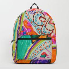 Pop Up Art Backpack by azima Modern Art, Contemporary Art, 1 Day Only, Pop Up Art, Pop Surrealism, Painting For Kids, Mandala Art, Consciousness, Namaste