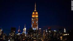 Empire State Building shines light on endangered species - CNN.com