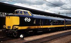 NS Nederlanse Spoorwegen Stuurstandrijtuig