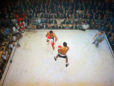 Muhammad Ali vs. Floyd Patterson in 1965