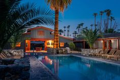 Hot mini-moon escapes: Sparrows Lodge, Palm Springs, California