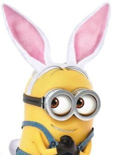 Easter bunny Minion.