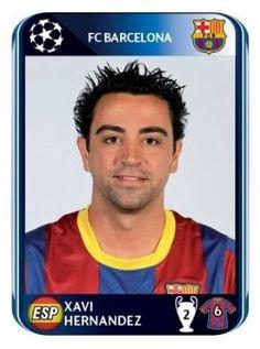 Barcelona - Xavi Hernandez - Champions League2010-2011