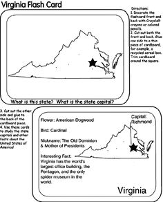 Virginia coloring page  Crayola has state pages country flags