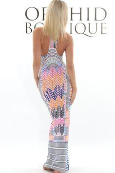 Mara Hoffman Basket Weave Maxi Dress/ mermaid maxi, would look beautiful with my curves!! I want this!