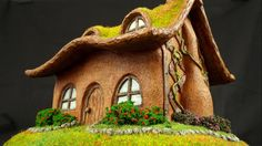 Building Eco Clay House Model in Polymer Clay Timelapse Tutorial