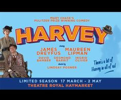 Win Tickets for HARVEY at the Theatre Royal Haymarket in London's West End sweepstakes